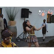 Zábavný a festivalový program v africkém stylu